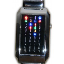 Montre Matrix 44 Led multicolors